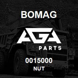 0015000 Bomag Nut   AGA Parts