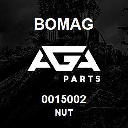0015002 Bomag Nut | AGA Parts
