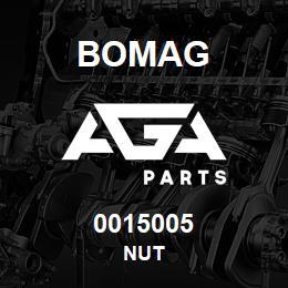 0015005 Bomag Nut | AGA Parts