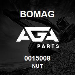 0015008 Bomag Nut | AGA Parts