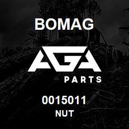 0015011 Bomag Nut | AGA Parts