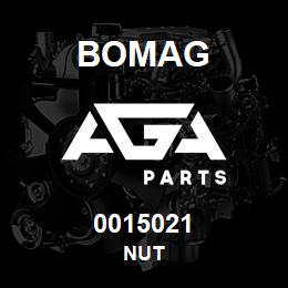 0015021 Bomag Nut | AGA Parts