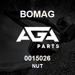 0015026 Bomag Nut | AGA Parts