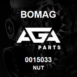 0015033 Bomag Nut | AGA Parts