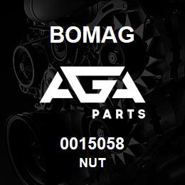 0015058 Bomag Nut | AGA Parts