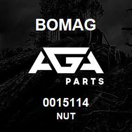 0015114 Bomag Nut | AGA Parts
