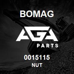 0015115 Bomag Nut | AGA Parts