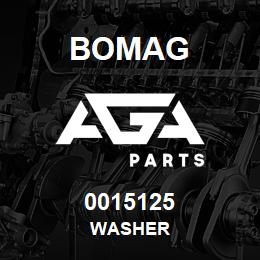 0015125 Bomag Washer | AGA Parts