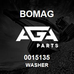 0015135 Bomag Washer | AGA Parts