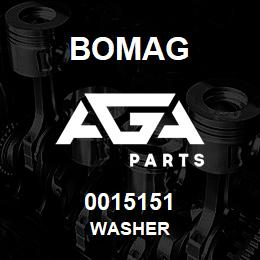 0015151 Bomag Washer | AGA Parts