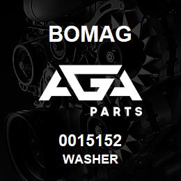 0015152 Bomag Washer | AGA Parts