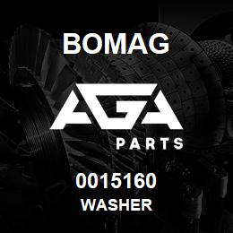 0015160 Bomag Washer | AGA Parts