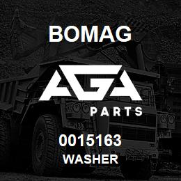 0015163 Bomag Washer | AGA Parts