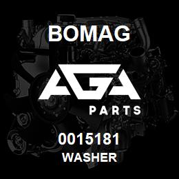 0015181 Bomag Washer | AGA Parts