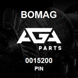 0015200 Bomag Pin | AGA Parts