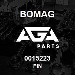 0015223 Bomag Pin | AGA Parts