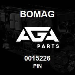 0015226 Bomag Pin | AGA Parts
