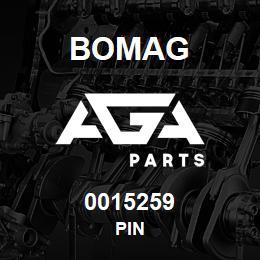 0015259 Bomag Pin | AGA Parts