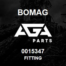 0015347 Bomag Fitting | AGA Parts