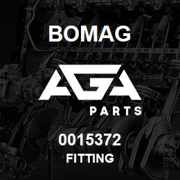 0015372 Bomag Fitting | AGA Parts