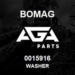 0015916 Bomag Washer | AGA Parts