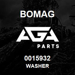 0015932 Bomag Washer | AGA Parts