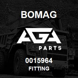 0015964 Bomag Fitting | AGA Parts