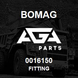 0016150 Bomag Fitting | AGA Parts