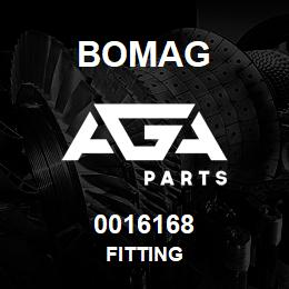 0016168 Bomag Fitting | AGA Parts