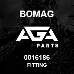 0016186 Bomag Fitting | AGA Parts