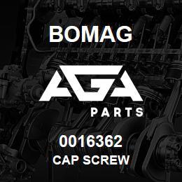0016362 Bomag Cap screw | AGA Parts