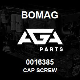 0016385 Bomag Cap screw | AGA Parts