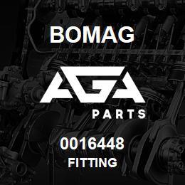 0016448 Bomag Fitting | AGA Parts