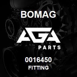 0016450 Bomag Fitting | AGA Parts