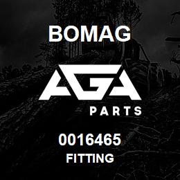 0016465 Bomag Fitting | AGA Parts