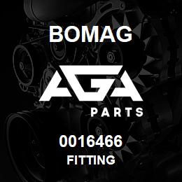 0016466 Bomag Fitting | AGA Parts