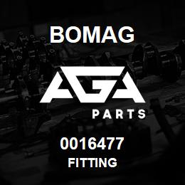 0016477 Bomag Fitting | AGA Parts