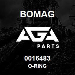 0016483 Bomag O-ring   AGA Parts