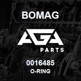 0016485 Bomag O-ring | AGA Parts