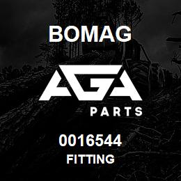 0016544 Bomag Fitting | AGA Parts
