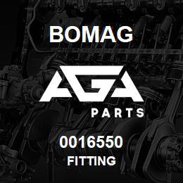 0016550 Bomag Fitting | AGA Parts