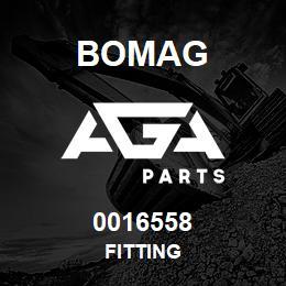 0016558 Bomag Fitting | AGA Parts
