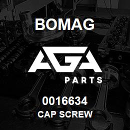 0016634 Bomag Cap screw | AGA Parts