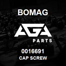 0016691 Bomag Cap screw | AGA Parts