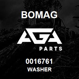 0016761 Bomag Washer | AGA Parts