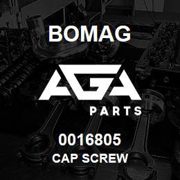 0016805 Bomag Cap screw | AGA Parts