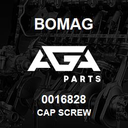 0016828 Bomag Cap screw | AGA Parts