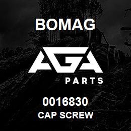 0016830 Bomag Cap screw | AGA Parts