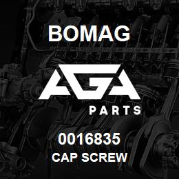 0016835 Bomag Cap screw | AGA Parts