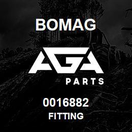 0016882 Bomag Fitting | AGA Parts